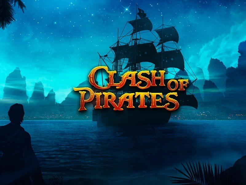 clash of pirates slot logo