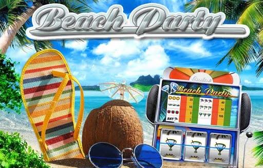 beach party slot logo