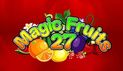magic fruits 27 automat online
