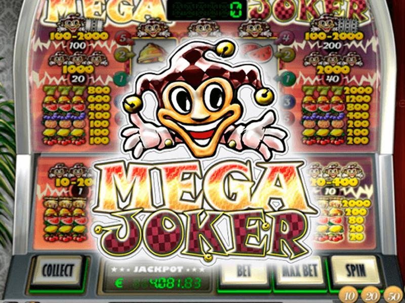 mega joker netent logo